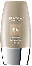 Parfüm, Parfüméria, kozmetikum Mattító hatású alapozó - BeYu Velvet Mat Foundation