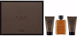 Parfüm, Parfüméria, kozmetikum Gucci Guilty Absolute - Készlet (edp 50ml + a/s/b 50ml + s/g 50ml)
