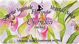 "Parfüm, Parfüméria, kozmetikum Természetes szappan ""Orchidea"" - Florinda Sapone Vegetale Vegetal Soap Orchid"