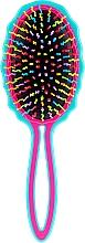Parfüm, Parfüméria, kozmetikum Hajkefe, türkiz és rózsaszín - Twish Big Handy Hair Brush Turquoise-Pink