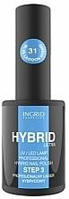 Parfüm, Parfüméria, kozmetikum Gél lakk - Ingrid Cosmetics Hybrid Ultra Nail Polish