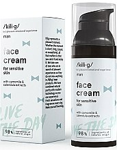 Parfüm, Parfüméria, kozmetikum Hidratáló arckrém - Kili·g Man Day Cream