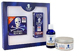 Parfüm, Parfüméria, kozmetikum Készlet - The Bluebeards Revenge Designer Stubble Kit (face/scr/100ml+beard/oil/100/ml)
