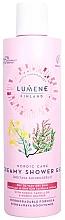 Parfüm, Parfüméria, kozmetikum Puhító krém-gél tusfürdő száraz bőrre - Lumene Nordic Care Creamy Shower Gel