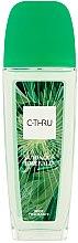 Parfüm, Parfüméria, kozmetikum C-Thru Luminous Emerald - Testpermet