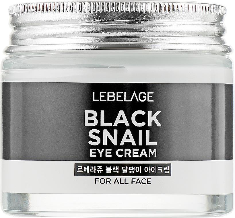 Helyreállító krém szemkörnyékre csigával - Lebelage Black Snail Eye Cream