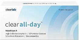 Parfüm, Parfüméria, kozmetikum Konaktlencse, 3db - Clearlab Clear All-day