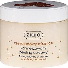 """Parfüm, Parfüméria, kozmetikum Cukor bőrradír """"Csokis praliné"""" - Ziaja Sugar Body Peeling"""