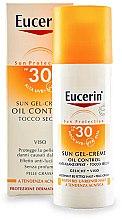 Parfüm, Parfüméria, kozmetikum Napvédő krém-gél zsíros és aknéra hajlamos bőrre - Eucerin Sun Gel-Cream Oil Control SPF30