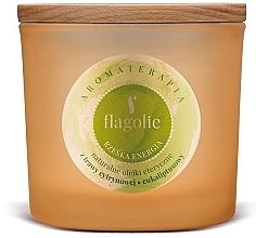 """Parfüm, Parfüméria, kozmetikum Illatgyertya pohárban """"Energia"""" - Flagolie Fragranced Candle Right Energy"""