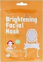 Parfüm, Parfüméria, kozmetikum Frissítő hatású szövetmaszk - Cettua Brightening Facial Mask