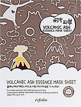 Parfüm, Parfüméria, kozmetikum Anyagmaszk vulkáni hamuval - Esfolio Pure Skin Volcanic Ash Essence Mask Sheet