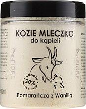 "Parfüm, Parfüméria, kozmetikum Kecske fürdőtej ""Narancs és vanília"" - E-Fiore Orange And Vanilla Bath Milk"
