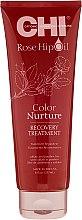 Parfüm, Parfüméria, kozmetikum Maszk csipkebogyó olajjal és keratinnal - CHI Rose Hip Oil Recovery Treatment