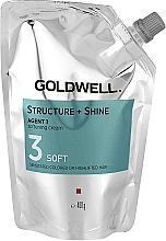Parfüm, Parfüméria, kozmetikum Puhító krém sérült hajra - Goldwell Structure + Shine Agent 1 Soft 3