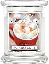 Parfüm, Parfüméria, kozmetikum Illatosított gyertya üvegben - Kringle Candle Hot Chocolate