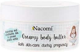 Parfüm, Parfüméria, kozmetikum Testápoló vaj - Nacomi Pregnant Care Creamy Body Butter