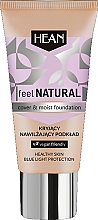 Parfüm, Parfüméria, kozmetikum Hidratáló alapozó - Hean Feel Natural Cover & Moist Foundation