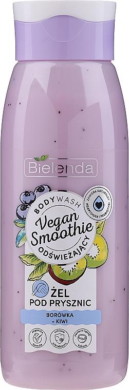 "Tusfürdő ""Áfonya és kivi"" - Bielenda Vegan Smoothie Shower Gel"