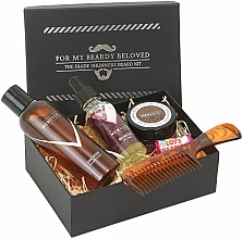 Parfüm, Parfüméria, kozmetikum Szett - Men Rock Oak Moss Grooming Kit (beard/wash/100ml + beard/oil/30ml + m/wax/25ml + b/comb)