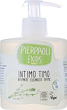 Parfüm, Parfüméria, kozmetikum Antibakteriális intim mosakodó organikus kakukkfű - Ekos Personal Care Thyme Intimate Cleanser (adagolóval)