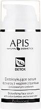 Parfüm, Parfüméria, kozmetikum Méregtelenítő szérum zsíros és vegyes típusú bőrre - APIS Professional Detox Detoxifying Face Serum With Carbon Bamboo And Ionized Silver