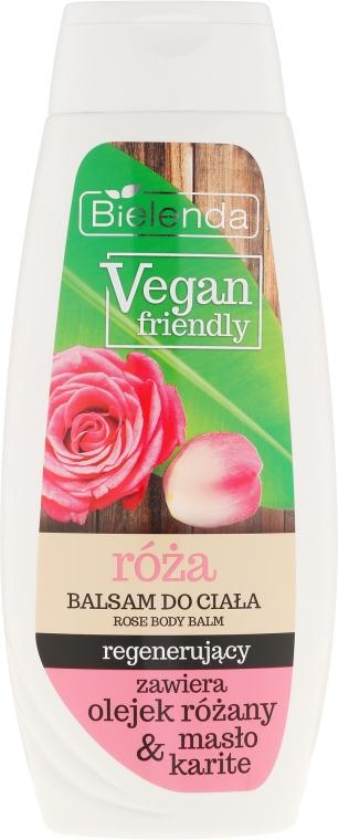 """Testápoló """"Rózsa"""" - Bielenda Vegan Friendly Regenerating Rose Body Balm"""
