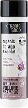 "Parfüm, Parfüméria, kozmetikum Sampon ""Srí Lanka kincsei"" - Organic Shop Organic Sandal and Indian Nut Volume Shampoo"