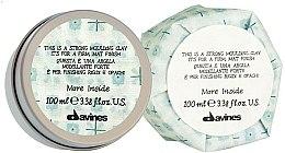 Parfüm, Parfüméria, kozmetikum Modellező agyag - Davines More Inside Strong Moulding Clay