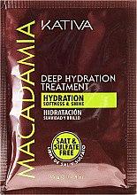 Parfüm, Parfüméria, kozmetikum Intenzív hidratáló maszk normál és sérült hajra - Kativa Macadamia Deep Hydrating Treatment