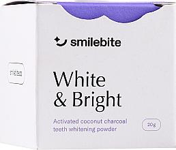 Parfüm, Parfüméria, kozmetikum Fehérítő fogpor kókusz szénnel - Smilebite White & Brigh Coconut Charcoal Teeth Whitening Powder