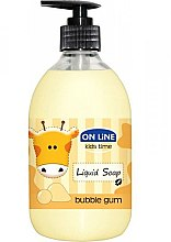 Parfüm, Parfüméria, kozmetikum Folyékony szappan - On Line Kids Time Liquid Soap Bubble Gum