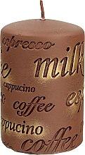 Parfüm, Parfüméria, kozmetikum Illatgyertya, 7x10 cm., barna - Artman Coffee