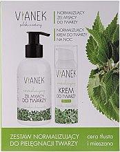 Parfüm, Parfüméria, kozmetikum Készlet - Vianek (gel/150ml + cr/50ml + mask/10ml)