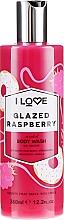 """Parfüm, Parfüméria, kozmetikum Tusfürdő """"Málna glazúr"""" - I Love Glazed Raspberry Body Wash"""