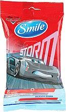 "Parfüm, Parfüméria, kozmetikum Nedves törlőkendő ""Cars"" Jacson Storm - Smile Ukraine Cars"