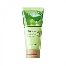 Parfüm, Parfüméria, kozmetikum Hidratáló Aloe vera mosakodóhab - The Saem Jeju Fresh Aloe Cleansing Foam