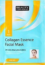Parfüm, Parfüméria, kozmetikum Szövetmaszk - Beauty Formulas Collagen Essence Facial Mask