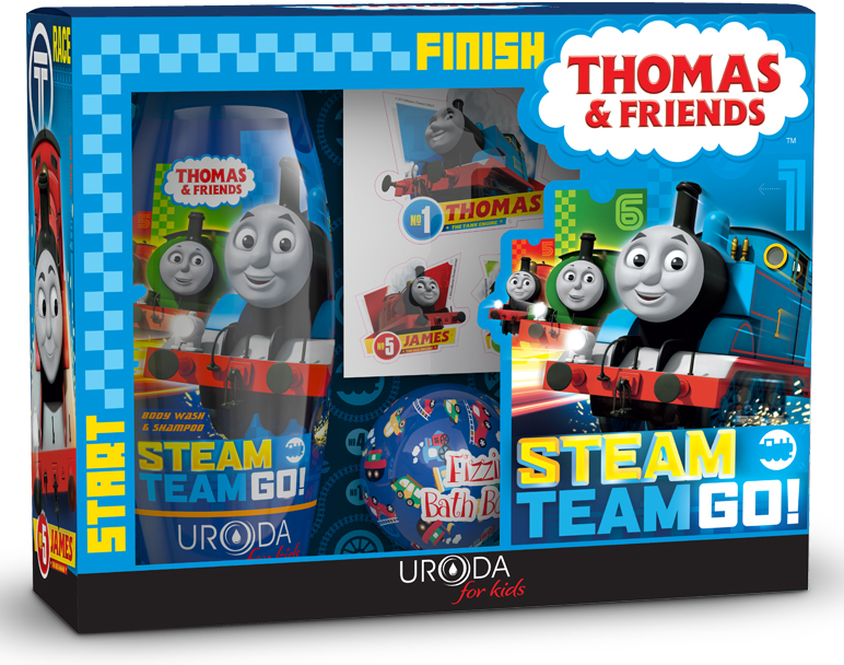 Szett - Uroda For Kids Thomas & Friends (shmp/250ml + bath/ball/100g)
