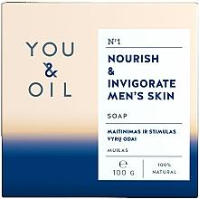 Parfüm, Parfüméria, kozmetikum Tápláló férfi szappan - You & Oil Nourish & Invigorate Men