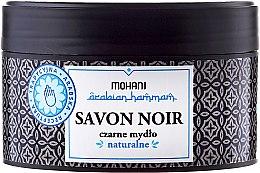 Parfüm, Parfüméria, kozmetikum Fekete szappan olívaolajjal - Mohani Savon Noir Natural Soap
