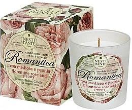 """Parfüm, Parfüméria, kozmetikum Illatgyertya """"Firenzei rózsa és bazsarózsa"""" - Nesti Dante Romantica Florentine Rose & Peony"""