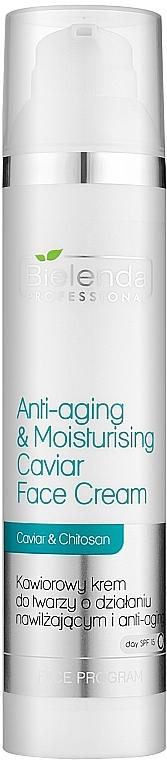 Fiatalító és erősítő arckrém kaviárral - Bielenda Professional Face Program Anti-Aging & Moisturising Caviar Face Cream