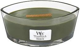 Parfüm, Parfüméria, kozmetikum Illatosított gyertya pohárban - WoodWick Hearthwick Flame Ellipse Candle Frasier Fir