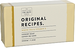 "Parfüm, Parfüméria, kozmetikum Szappan ""Fehér tea és E-vitamin"" - Scottish Fine Soaps Original Recipes White Tea & Vitamin E Luxury Soap Bar"