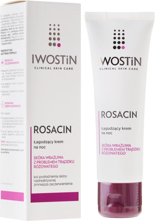 Nyugtató éjszakai arckrém - Iwostin Rosacin Redness Reducing Night Cream