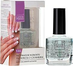 Parfüm, Parfüméria, kozmetikum Körömnövekedés serkentő lakk - Czyste Piękno Garlic Nail Growth Activator