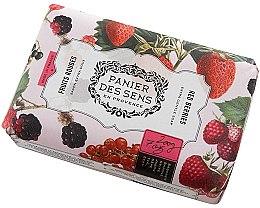 Parfüm, Parfüméria, kozmetikum Szappan - Panier Des Sens Extra Gentle Natural Soap with Shea Butter Red Berries