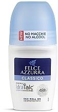 Parfüm, Parfüméria, kozmetikum Golyós dezodor - Felce Azzurra Deo Roll-on IdraTalc Classic