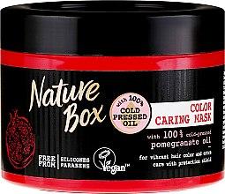 Parfüm, Parfüméria, kozmetikum Intenzív színvédő maszk - Nature Box Pomegranate Oil Maska